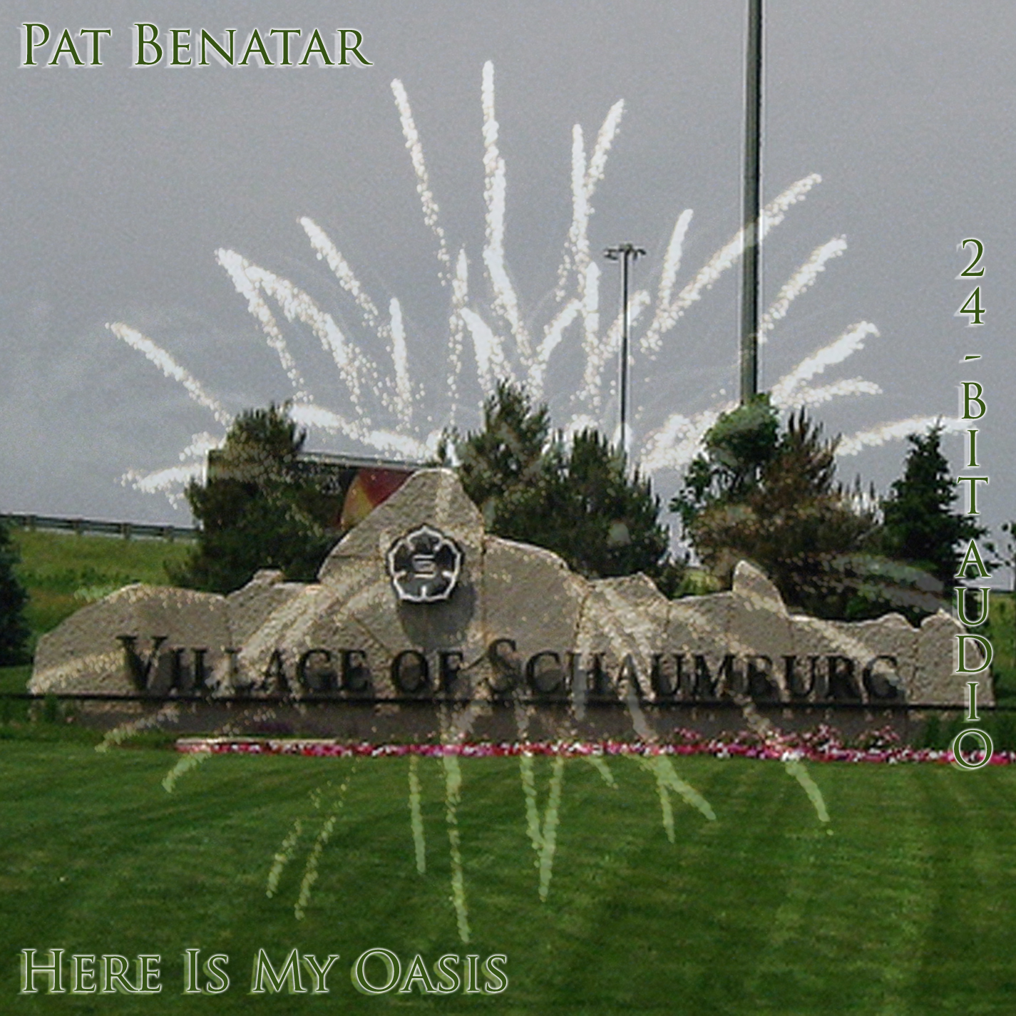 Pat Benatar - Here Is My Oasis - Cover (24bit version - audio dvd)