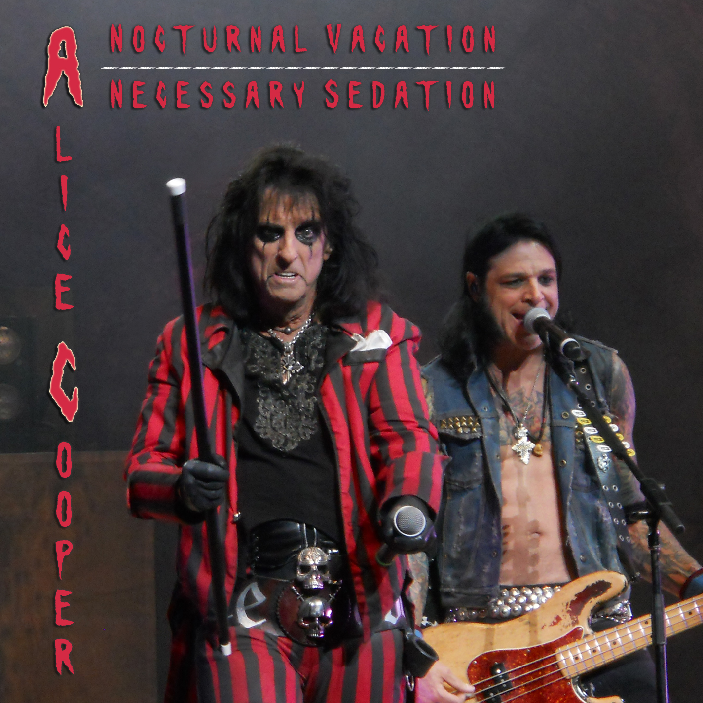 Alice Cooper - A Nocturnal Vacation - A Necessary Sedation - Cover