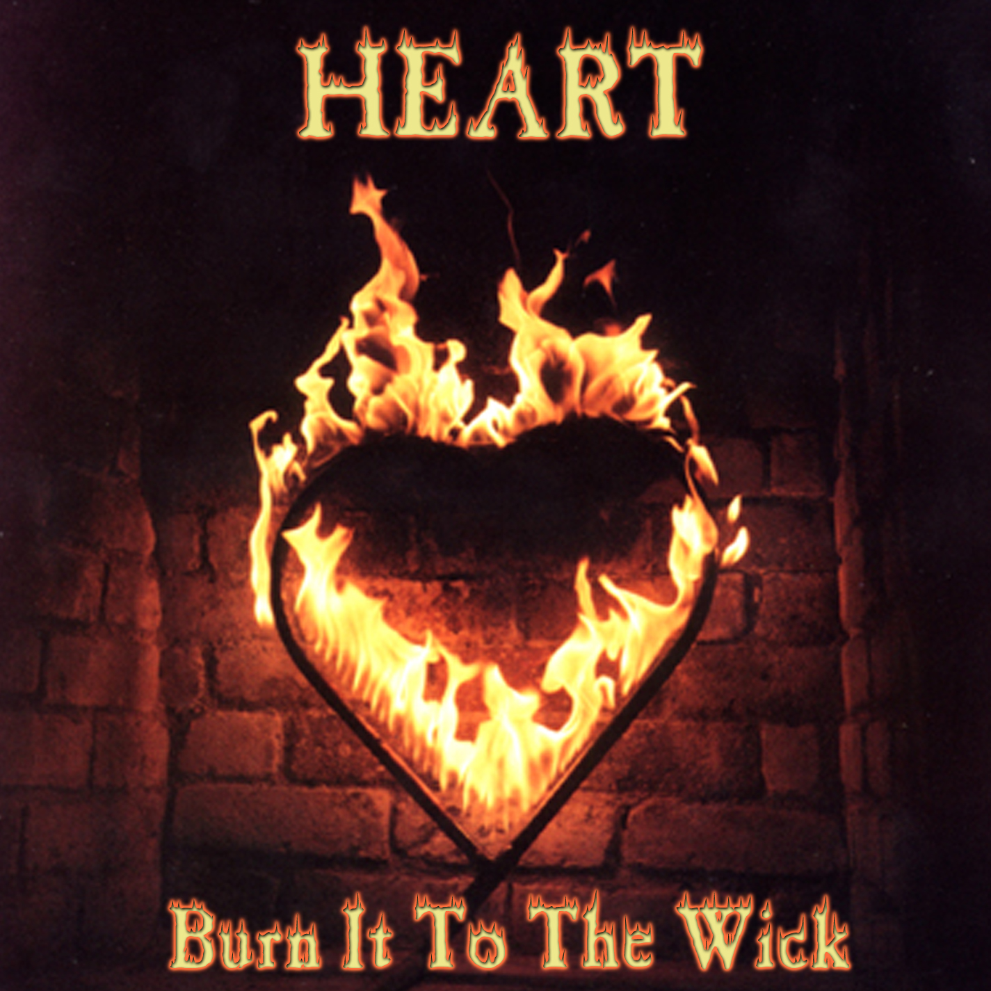 Heart - Burn It To The Wick - Cover