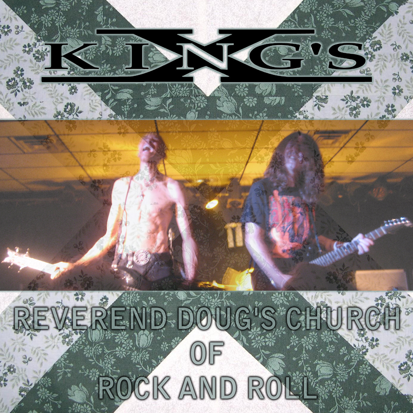 King's X - Reverend Doug's Church Of Rock And Roll - Cover