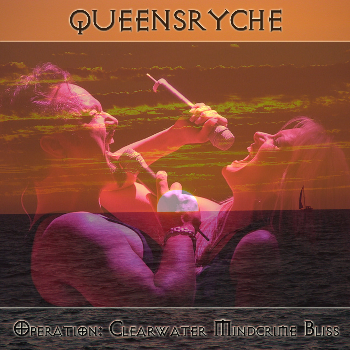 Queensryche - Operation: Clearwater Mindcrime Bliss - Cover